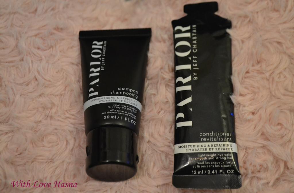 shampoing et un apres-shampoing de chez Parlor By Jeff CHASTAIN BirchBox Janvier 2016