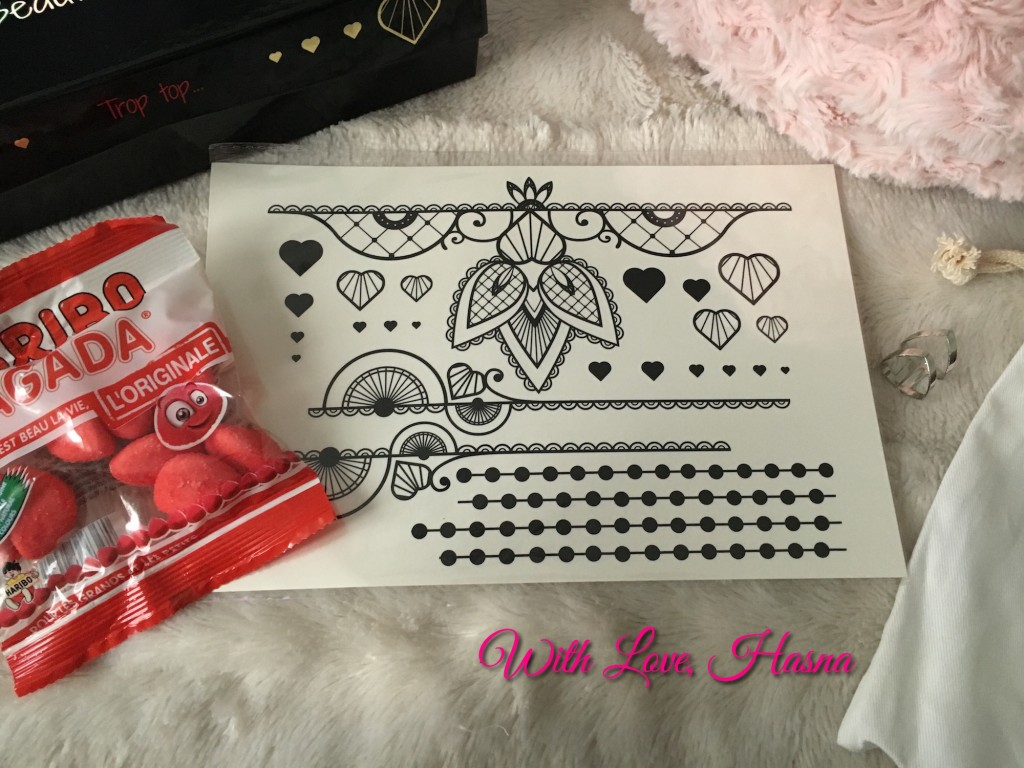 Beautiful Box Janvier 2016 contenu goodies