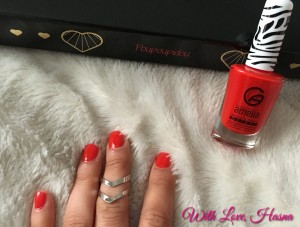 Beautiful Box Janvier 2016 vernis rouge crash test