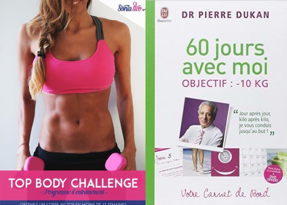 Top Body Challenge _60 jours avec Moi Dukan