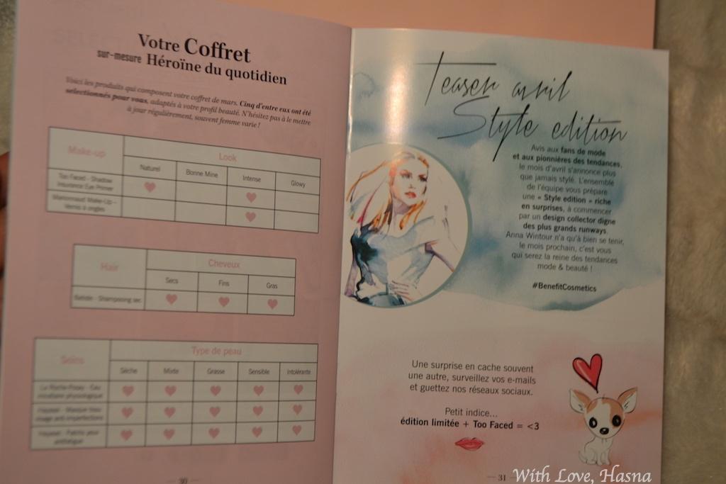 GlossyBox Mars 2016_ Heroine au quotidien magazine 2_