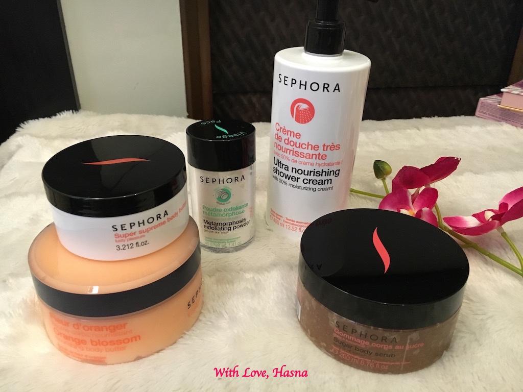 Haul Sephora Mars 2016 produits soins lait gommage_