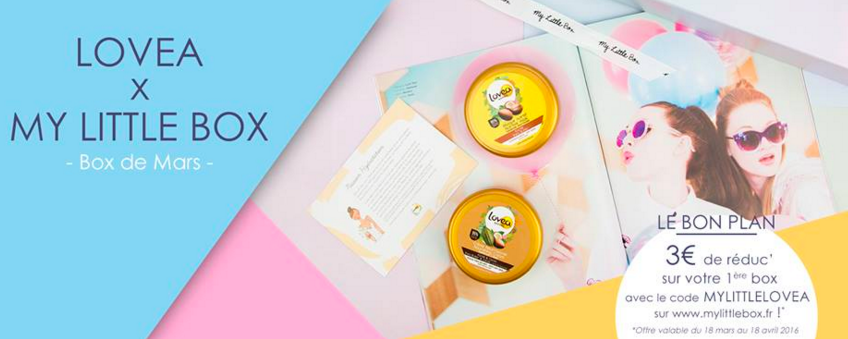 My Little Bubble Box Code promo avec LOVEA
