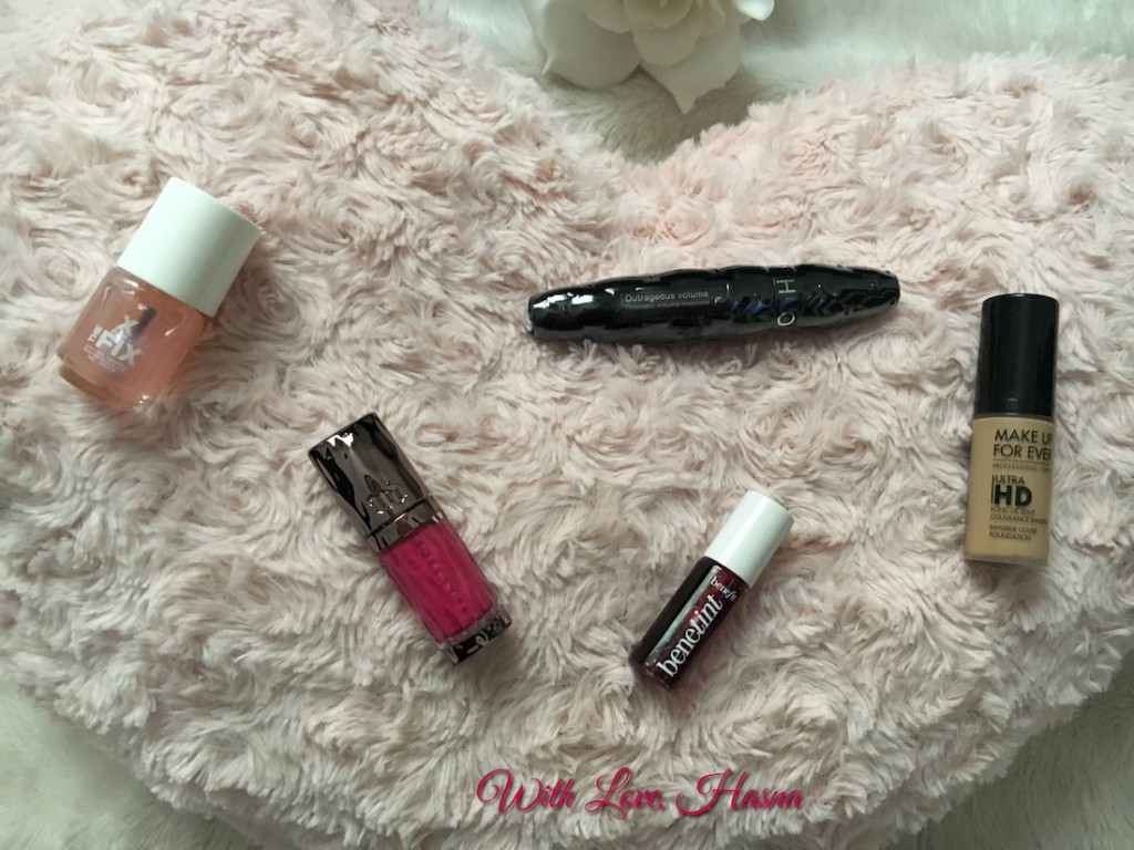 SephoraBox Hollywood mars 2016 produits de maquillage