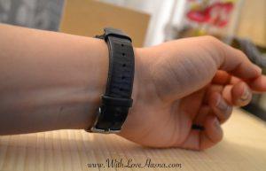 Bracelet cuir nombre de pas Xiamo Mi Band Bracelet connecte