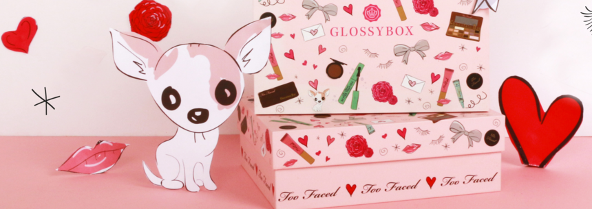 GLOSSYBOX EDITION LIMITEE TOO FACED