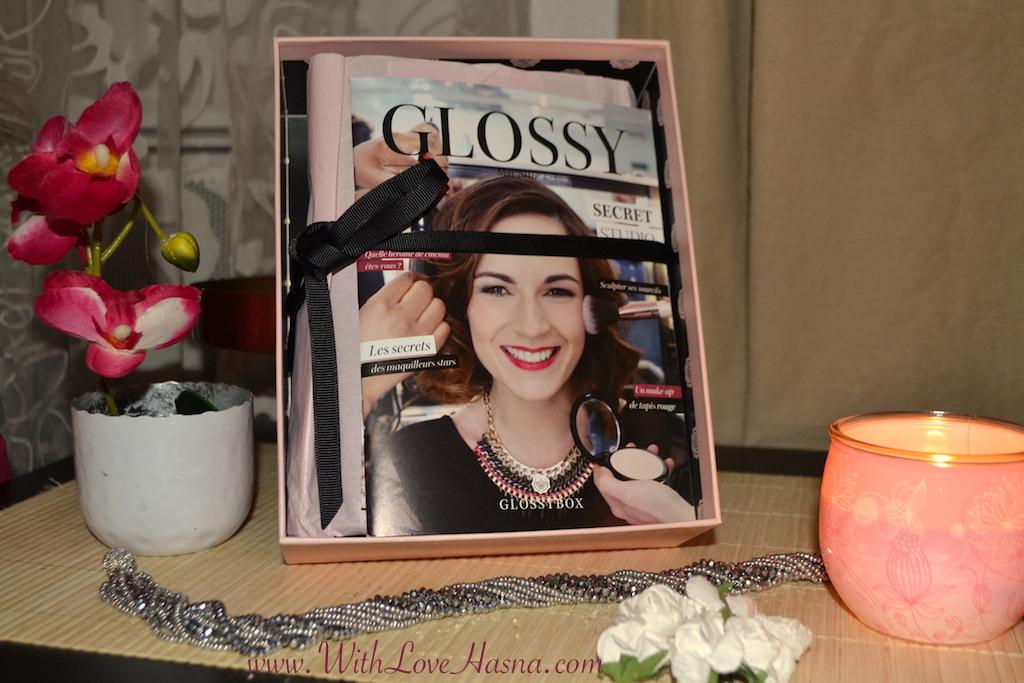 GlossyBox Mai 2016 Secret Studio _ contenu offre promo couverture