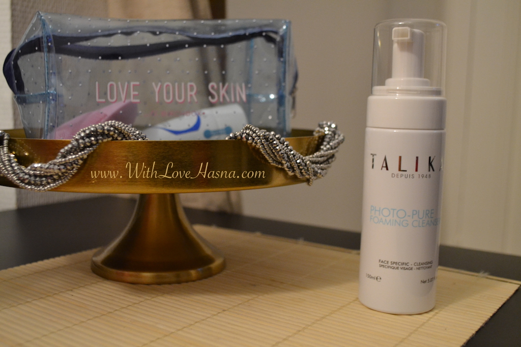 Love Your Skin _ BirchBOx _ edition limitee _TALIKA Gel nettoyant