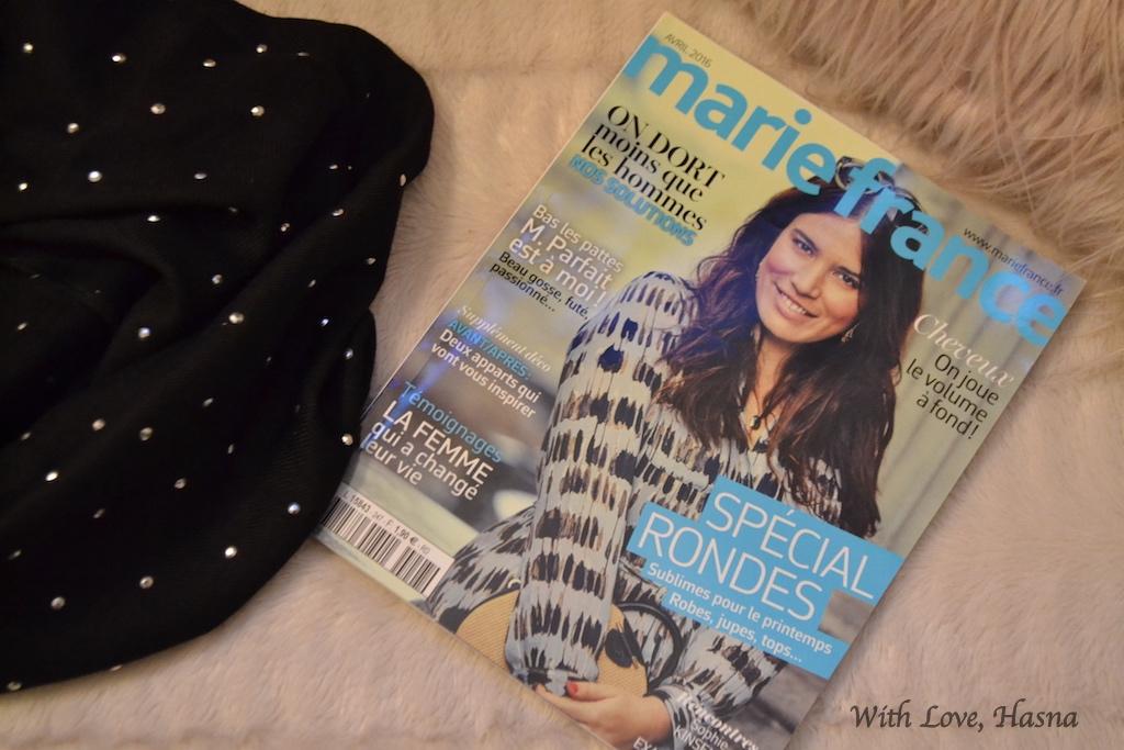 Marie France magazine avril 2016