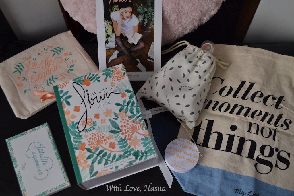 My Little Flower Box Avril 2016 contenu_