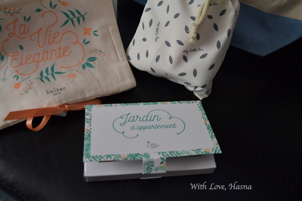 My Little Flower Box Avril 2016 goodies Jardin d'appartement 1_