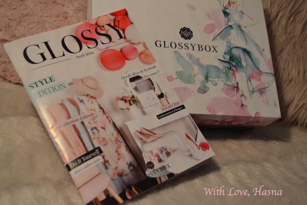 Style Edition GlossyBox avril 2016 coffret magazine