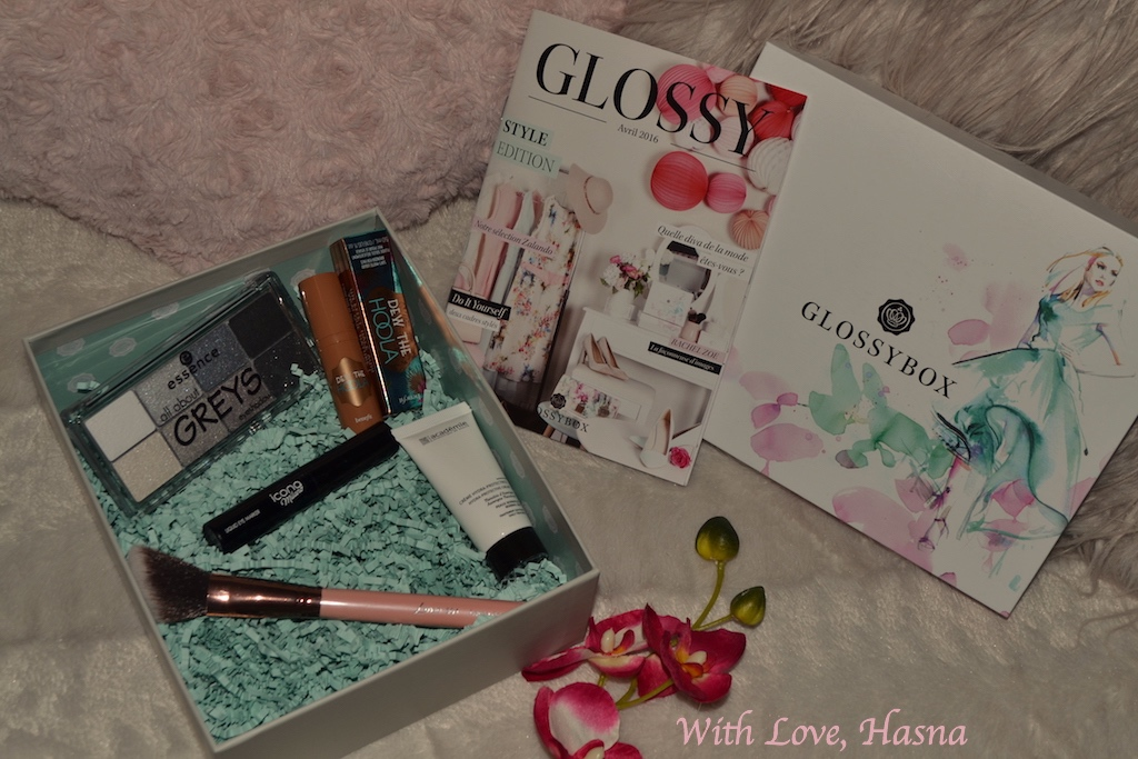 Style Edition GlossyBox avril 2016 coffret ouvert