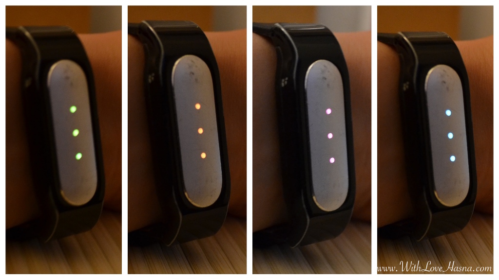 XIAOMI MI BAND LUMIERE LED