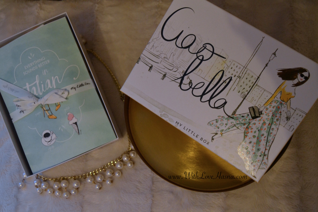 My Little Ciao Bella Box Coffret ouvert
