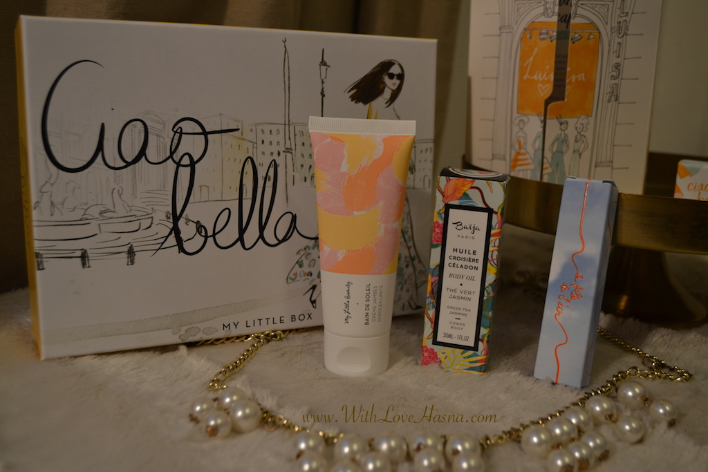 My Little Ciao Bella Box Contenu