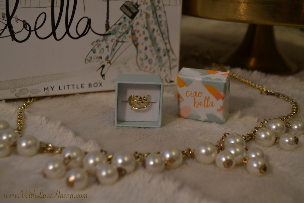 My Little Ciao Bella Box Goodie 1 bague ecrin