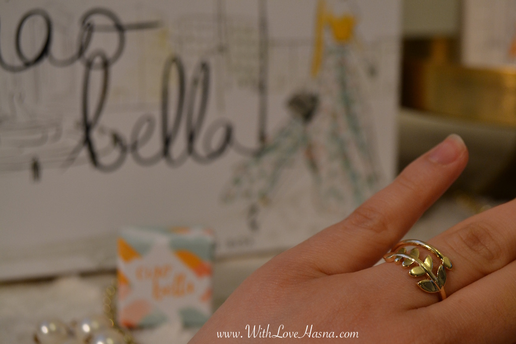 My Little Ciao Bella Box Goodie 1 bague_