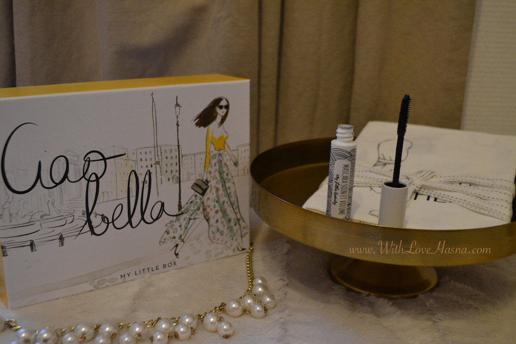 My Little Ciao Bella Box Offre WELCOMEBACK Goodies supplementaires MASCARA Soin et Volume My Little Beauty