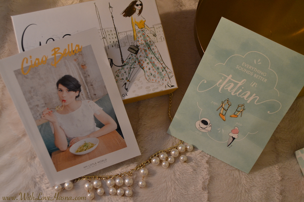 My Little Ciao Bella Box magazine et carte kanakoo