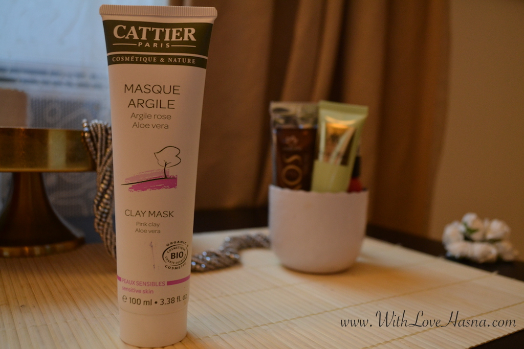 masque à l'argile rose CATTIER
