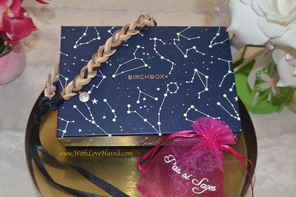 BirchBox Juillet 2016 - A la belle etoile - contenu Code promo bon plan box