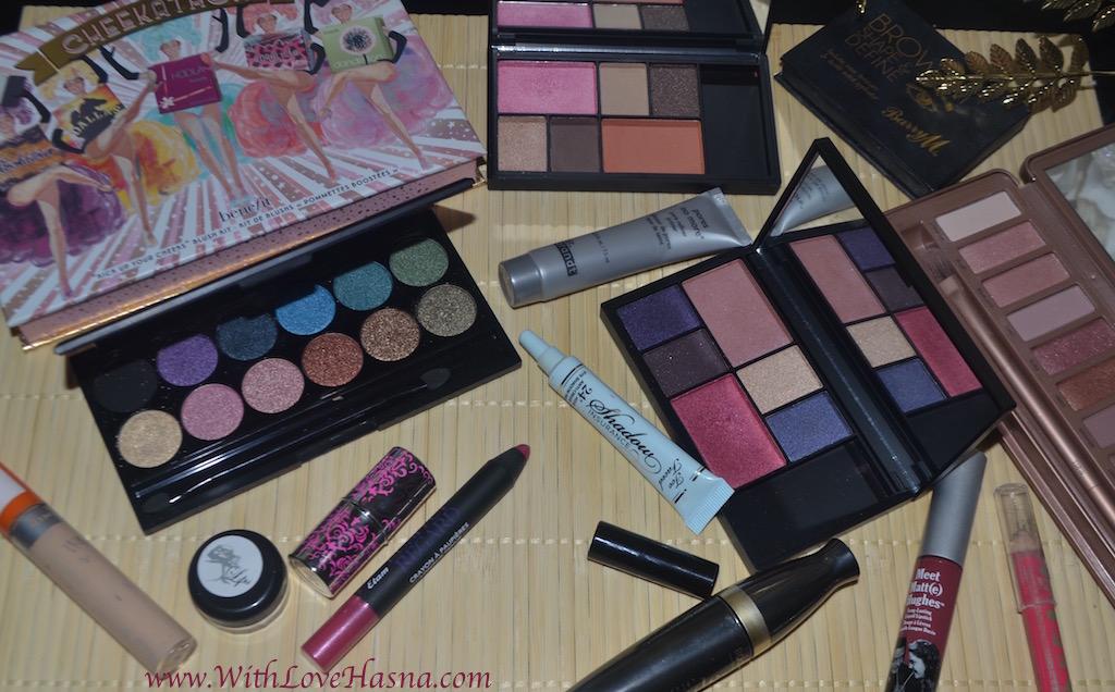 Monday Shadow Challenge _ Le Fuchsia _ Produits utilisés _ ALL _ DSC_1376
