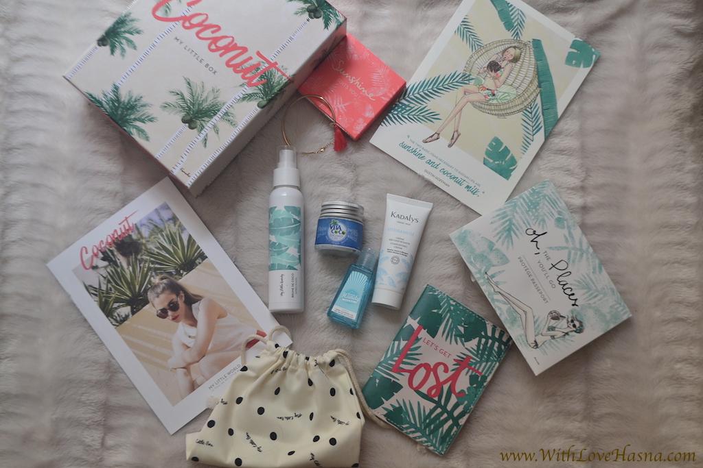 My Little Coco Box Juillet 2016 _ contenu ALL