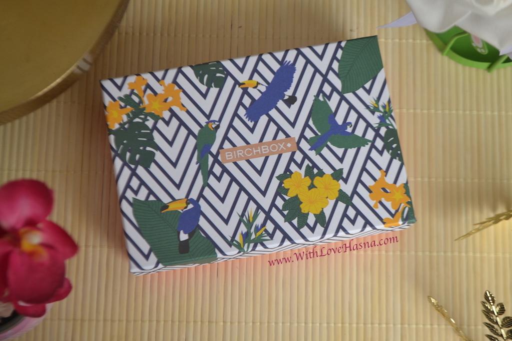 BirchBox Aout 2016 Viva Brazil Contenu Code Promo - Design Box du mois 00001