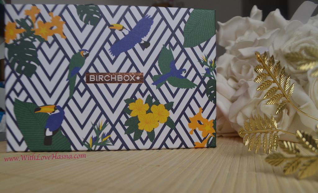 BirchBox Aout 2016 Viva Brazil Contenu Code Promo - Design Box du mois 00004