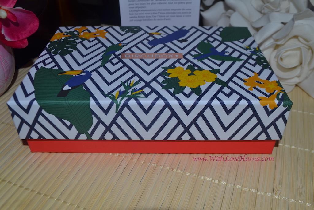 BirchBox Aout 2016 Viva Brazil Contenu Code Promo - Design Box du mois 00011