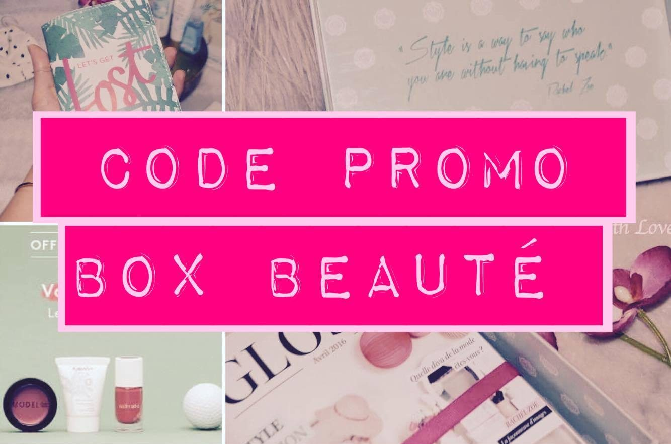 Code Promo Box Beauté Aout 2016 Birchbox glossybox mylittle box