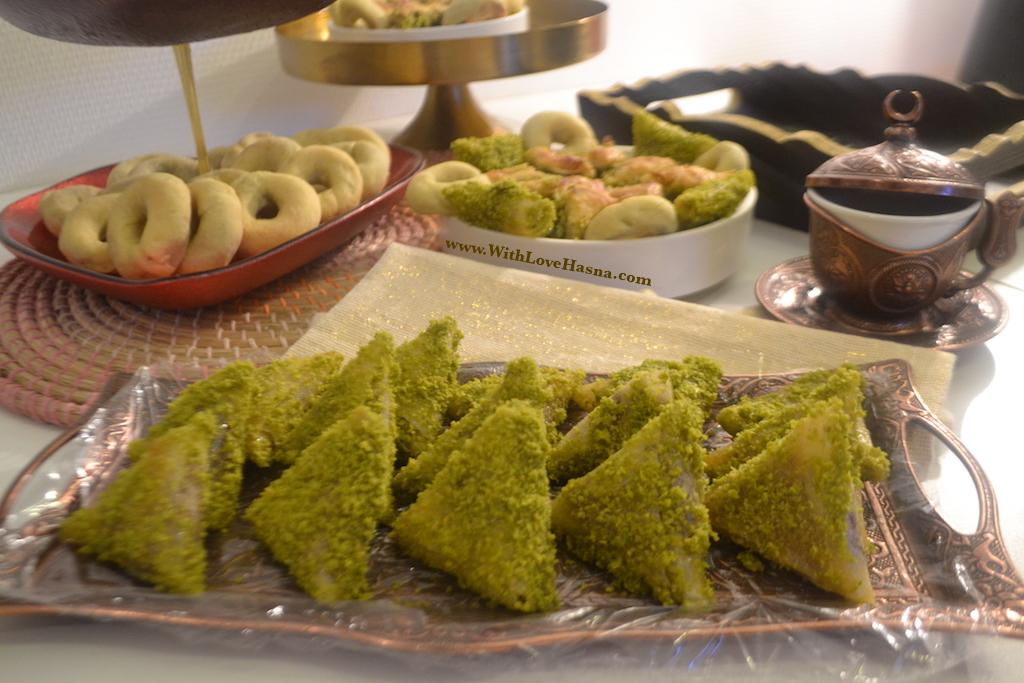 Finished Recette Samsa Tunisienne gateau tunisien home made tunisian delight 4