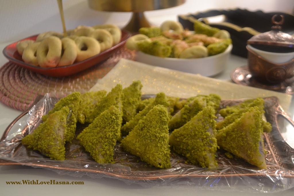 Cuisine recette samsa au four dessert tunisien - Recette de cuisine tunisienne facile et rapide en arabe ...