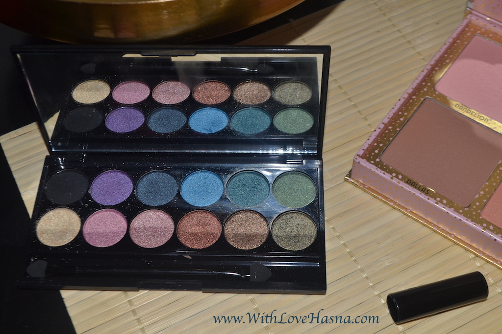 Monday Shadow Challenge MSC Bleu Canard Teal - Palette Sleek i Divine