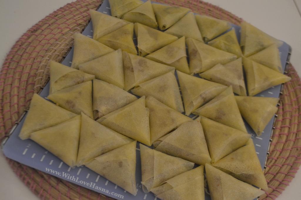 Recette Samsa Tunisienne gateau tunisien home made tunisian delight 00039